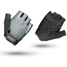 GripGrab Rouleur Short Cycling Gloves Women Grey